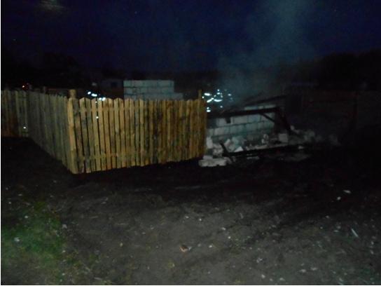 Два пожара произошли вчера на Лидчине.