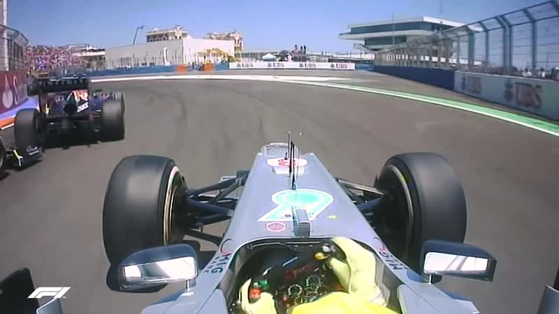 Amazing Overtakes Dramatic Collisions Best Onboards 2012 European Grand Prix