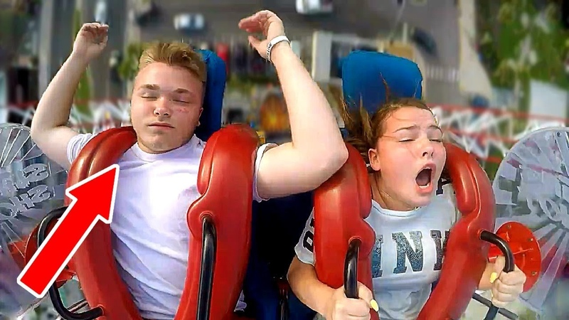Boys Passing Out 1 Funny Slingshot Ride Compilation