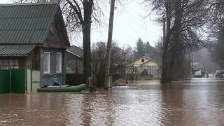 Почти дополусотни возросло количество подтопленных населенных пунктов вНовгородской области. Новости. Первый канал