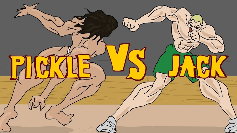 Pickle vs Jack Пикл против Джека бой Baki Баки
