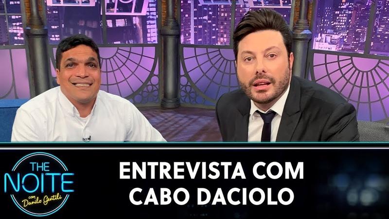 Entrevista com Cabo Daciolo   The Noite (290720)