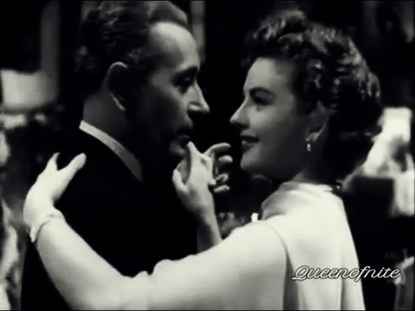 Tango Scene with George Raft Coleen Gray from Lucky Nick Cain 1951