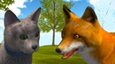 Симулятор КОТА и КОШКИ 4 Котики против Лисы, Боссов, мыши и енота. Новая порода Кида на пурумчата