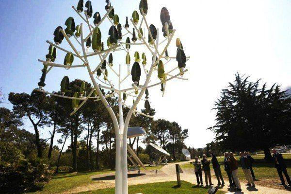 Biometric Energy Trees – Aeroleaf   NewWind