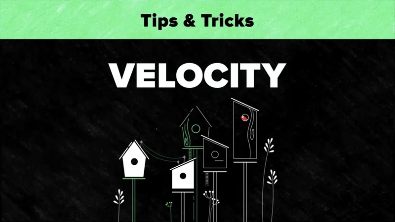 After Effects Tips Tricks - Velocity