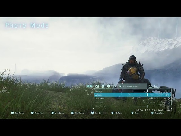Death Stranding PC Edition Photo Mode Photos Gameplay Trailer Hideo Kojima Game Video Games