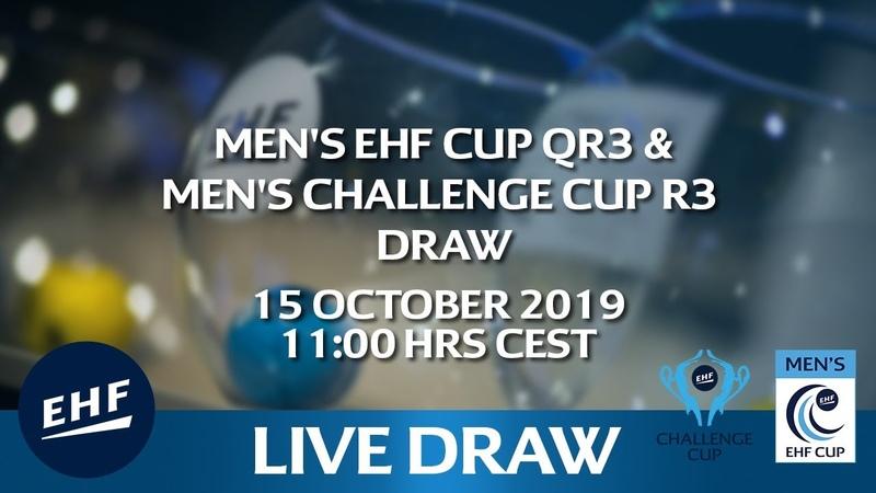 DRAW | Men's EHF CUP QR3 Men's CHALLENGE GUP R3