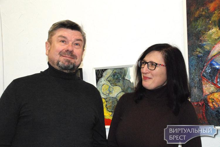 Один из самых востребованных художников Бреста открыл выставку в «Калiдоре»