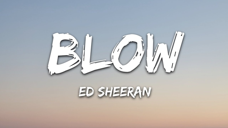 Ed Sheeran BLOW Lyrics with Chris Stapleton Bruno Mars