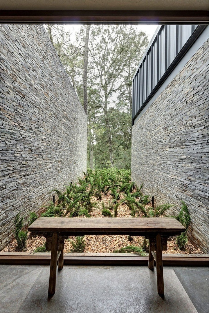 Максимальная близость к природе – великолепный проект объединённых частных домов