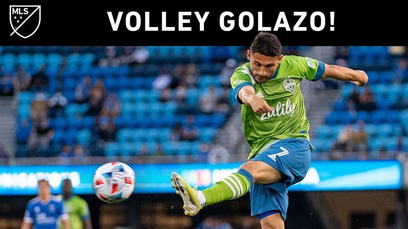 What A VOLLEY Golazo by Seattle Sounder's Cristian Roldan