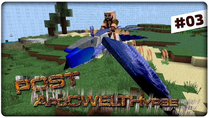 Minecraft 1.12.2 Post ApoCWELTHypse 🚀 ПОРШЕНЬ 03