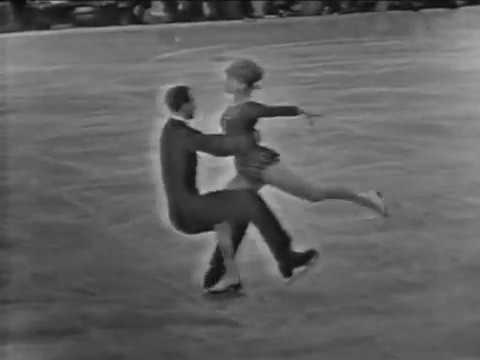 Tatiana Tarasova Georgi Proskurin 1965 Europeans LP
