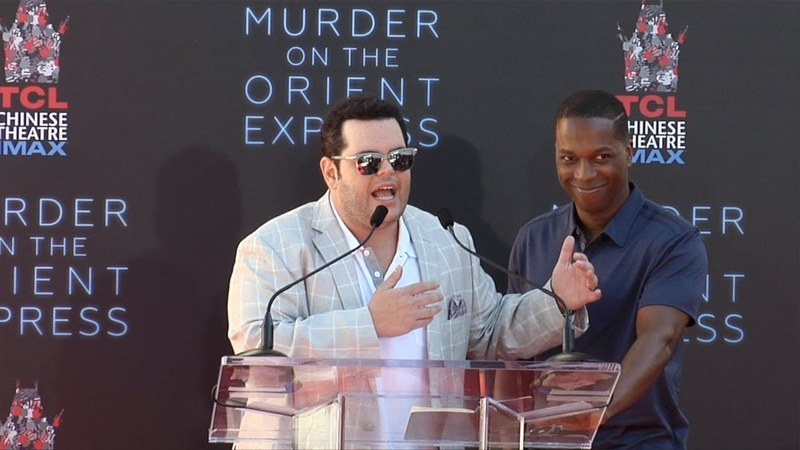 Josh Gad and Leslie Odom Jr Speech at Kenneth Branagh's Hand and Footprint Ceremony