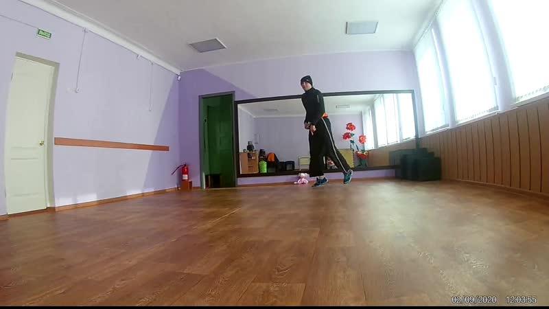 тренировка с дочуркой bboy pashu bgerl ритатуй smails breiking crew