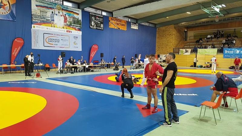 Nikita Savin Sambo 07 Hannover Daubert Artur Sambo Combat Deutsche Sambo Meisterschaft