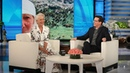 Helen Mirren Camped with Liam Neeson in a Tiny Tent