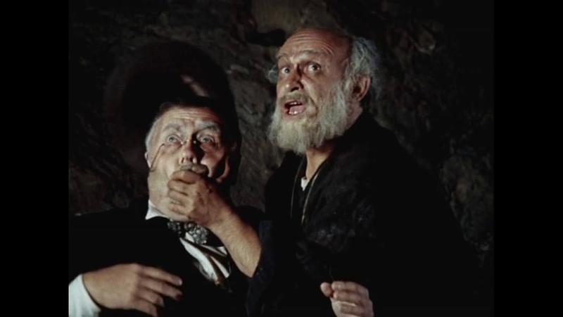 Встреча Остапа и Кисы в горах с отцом Федором 12 стульев