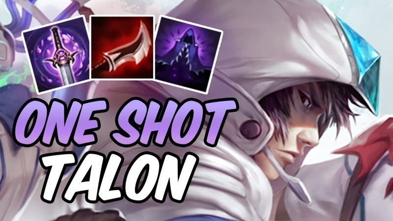 Full Lethality Talon One Shots | Build Runes | SSW Talon | League of Legends