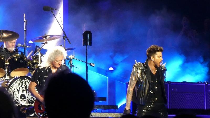 Queen Adam Lambert Another One Bites The Dust Optus Stadium Perth