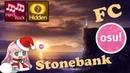 !osu Stonebank Stronger FC HDHR 1652 combo Yukizie Cookiezi Next Generations