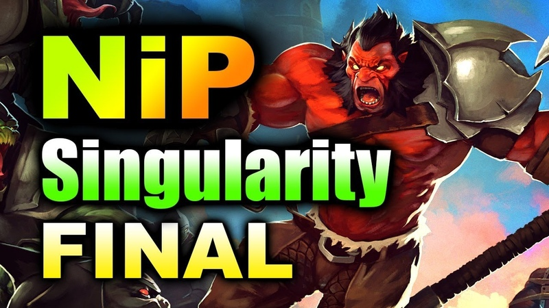 NiP vs SINGULARITY - EU GRAND FINAL - SUMMIT 11 MINOR DOTA 2