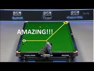 Ronnie O'Sullivan Amazing FRAME STEAL vs John Higgins   Champion of Champions 2019
