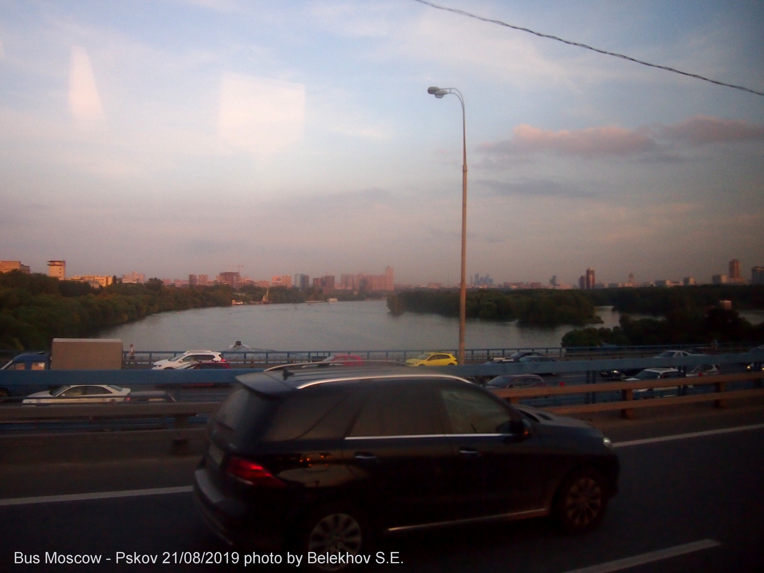 Москва - Великие Луки, сквозь стекло