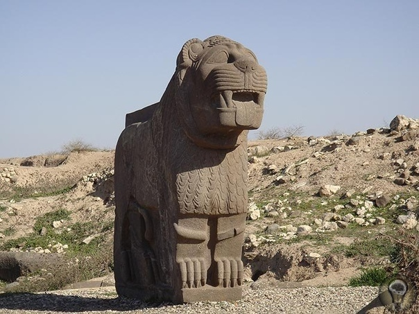 Айн Дара Если в Пальмире нам так и не удалось обнаружить явных следов присутствия там древних богов, то гораздо больше повезло на северо-западе Сирии, где в 67 километрах от города Алеппо