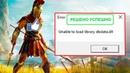Unable to Load Library DBdata DLL Assassin's Creed Odyssey - Как Исправить Ошибку (Fix Error)