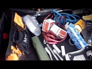 Что необходимо возить в багажнике. Что я таскаю с собой в машине. Часть 1