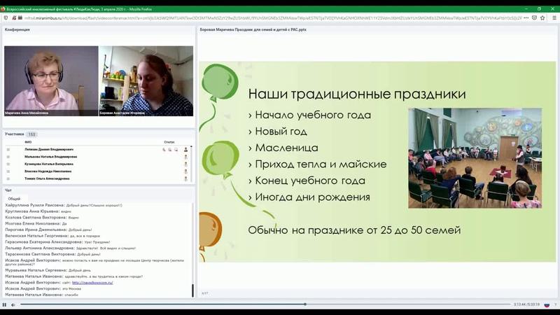 Проведение праздников для детей с особенностями развития, Анастасия Боровая, Анна Маричева