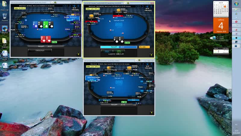 PercoFF 888 sng session easygame in 2020 =D