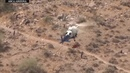 Video captures spinning helicopter rescue of injured hiker in Arizona