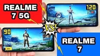 REALME 7 5G vs REALME 7 🔥 - БОЛЬШОЕ СРАВНЕНИЕ В ИГРАХ! FPS + НАГРЕВ! GAMING TEST