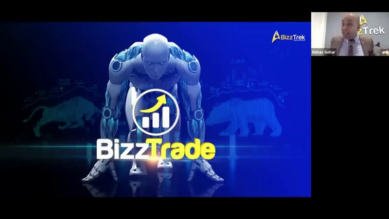 BizzTrade. Презентация от CEO Рехан Гохар на Английском.