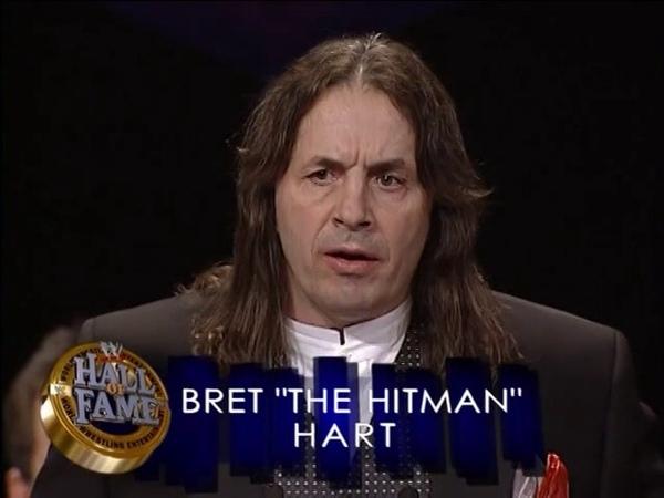 WWE Hall of Fame 2006 - Bret Hart Induction Speech