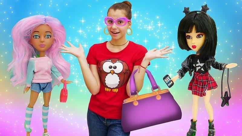 Классные видео для девочек. Новые куклы Snapstar! Веселые игры в игрушки.