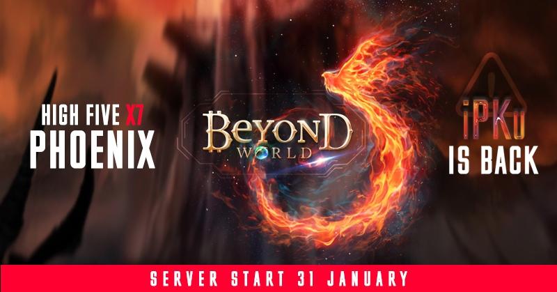 Return iPKu and the opening of the Phoenix x7 HighFive!