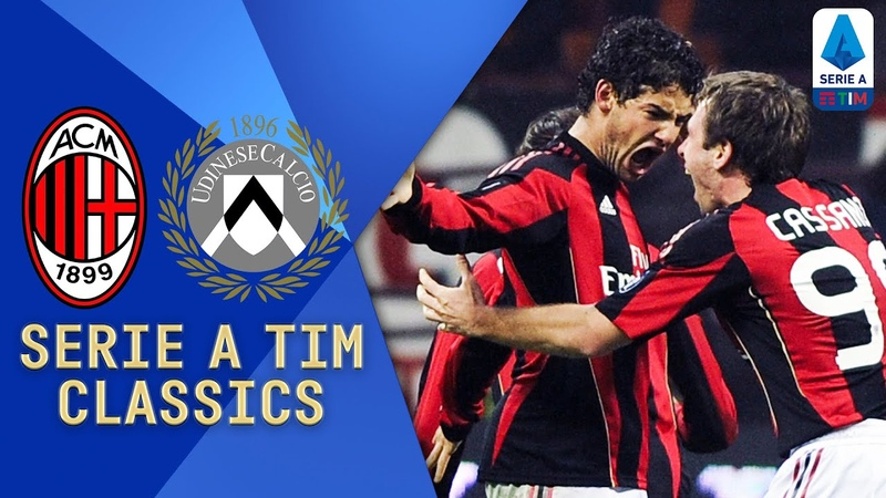 Ibra and Pato v Sanchez and Di Natale Milan v Udinese 2011 Serie A TIM Classics Serie A TIM