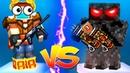 Pixel Gun 3D Funny Bugs - 2 BOTS Ф DUELS 😳