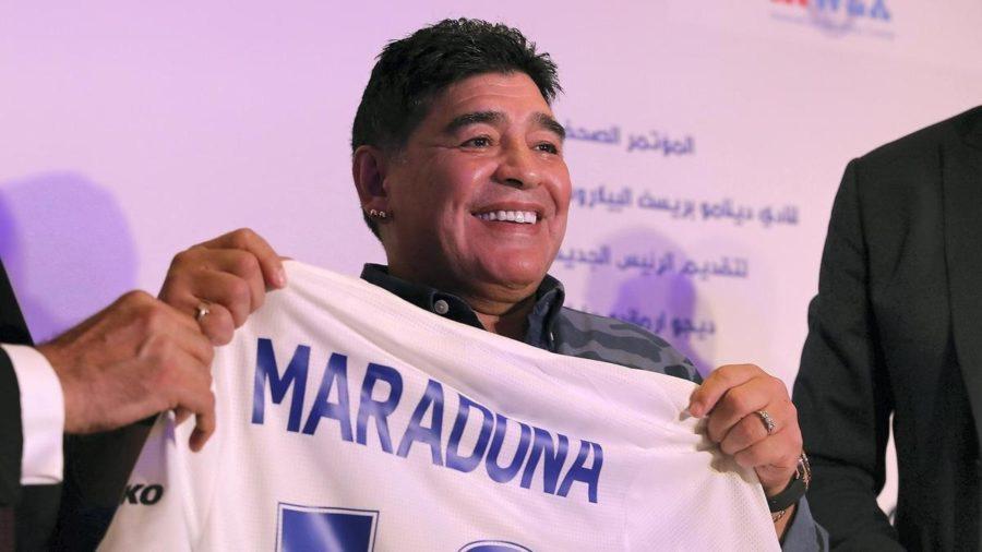 Стало известно, почему Диего Марадона не приехал в Беларусь второй раз