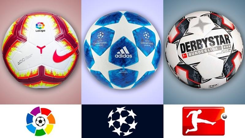 Официальные мячи лучших футбольных лиг II 2018-19 II