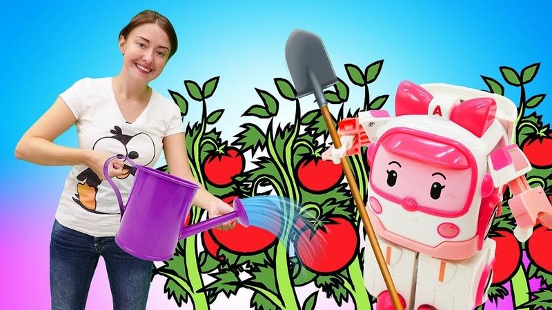 Видео для детей Веселая школа. Учимся тушить овощи в Мультиварке вместе с Катей