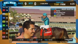 Nucky wins the Runhappy Del Mar Futurity (Grade I) Race 9 at Del Mar 09/02/19
