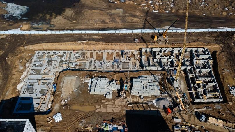 Отчет о ходе строительства апрель 2020 квартал «Среда», изображение №15