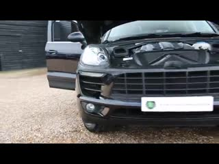 Porsche macan s 3.0 v6 twin turbo 5dr pdk automatic in jet black 2014