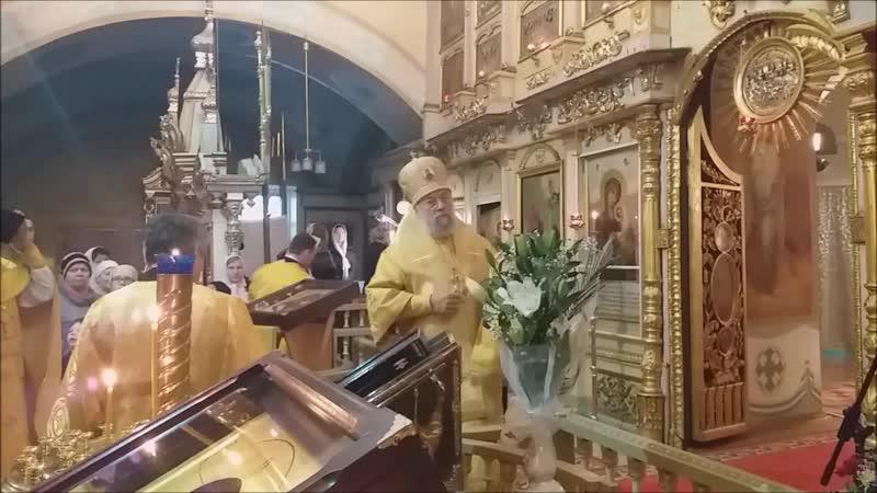 Владыка Иннокентий в Свято-Покровском храме