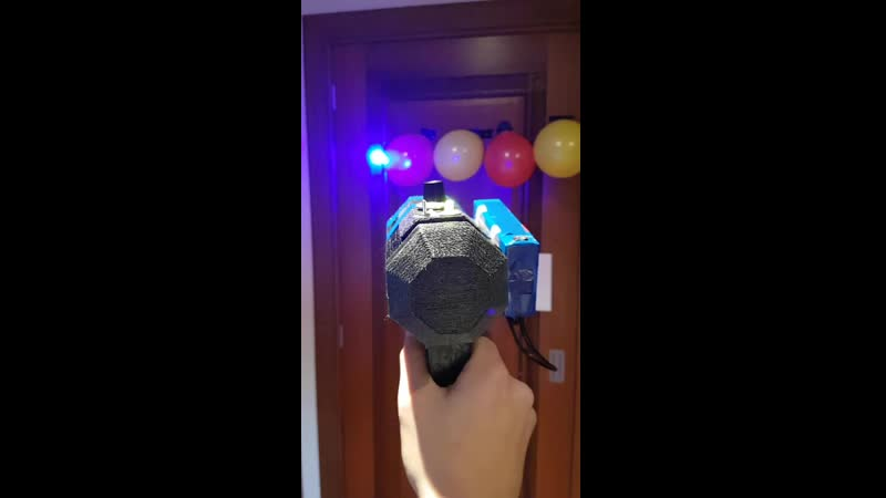 I spent the past six months building a laser gun inbetween school